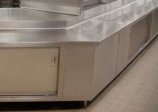 Stainless Steel Cabinets - Stainless Countertops