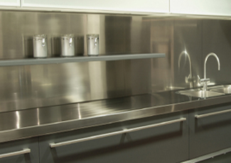 Stainless Steel Countertops - Stainless Steel Kitchens