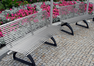 Stainless Steel Benches - Waverly, NE
