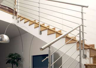 Stainless Steel Handrails - Custom Fabrication