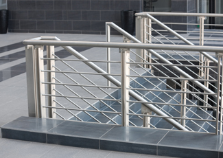 Stainless Steel Handrails - Examination Table